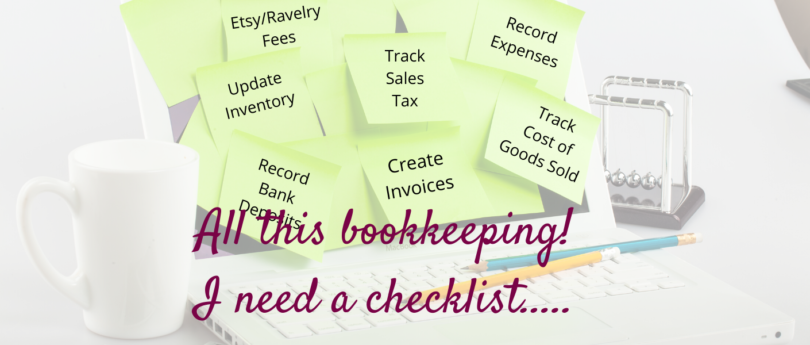 Bookkeeping & Accounting Task Checklist - Free Download