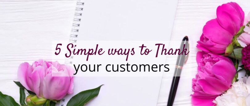 5 simple ways to thank your customers, tech editing clients, or even your pattern testers. Reward them for choosing your business.