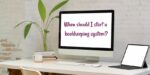 When to start a bookkeeping system for your handmade business